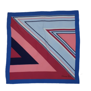 Christian Dior silk designer scarf