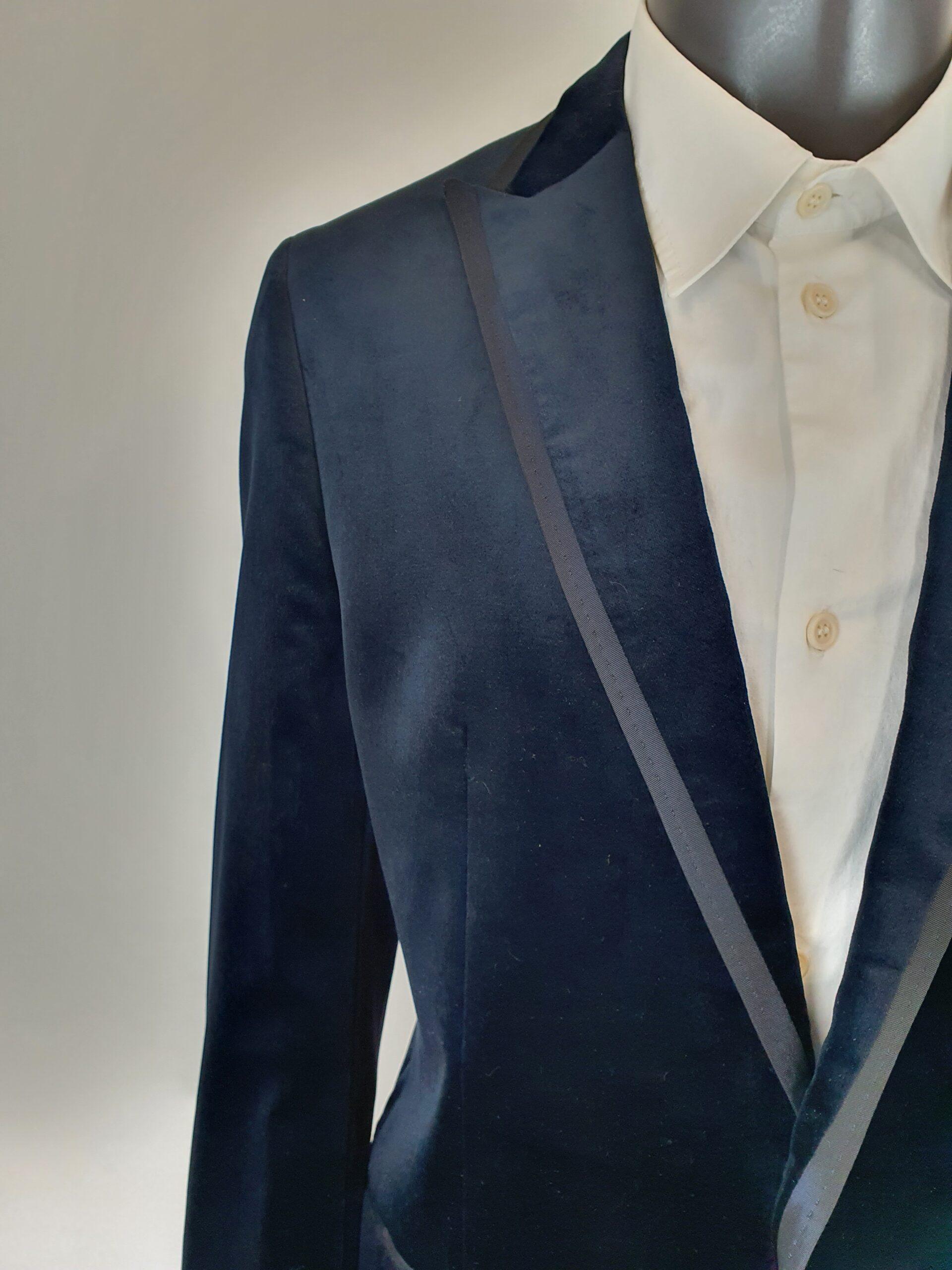 Dolce Gabbana Velvet Suit