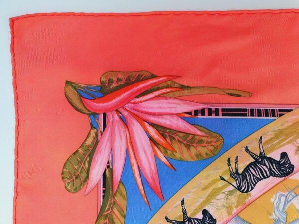 Hermes Tropiques silk scarf