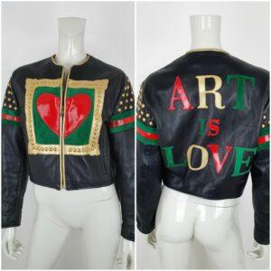 Moschino Art of Love bomberjacket