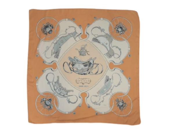Hermes Spring silk scarf