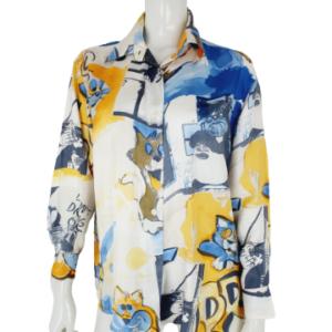 Iceberg silk blouse