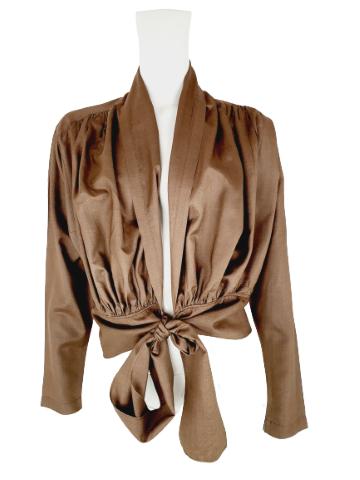 Kenzo wrap blouse
