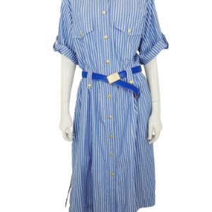 Burberrys striped maxi dress