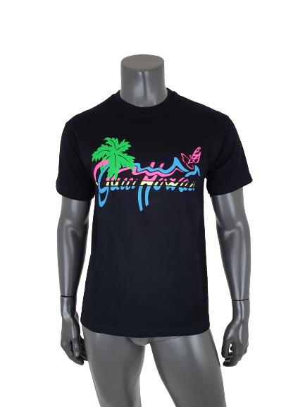 Gucci Hawaii Logo-print T shirt