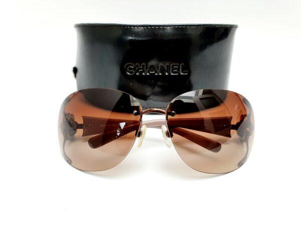 Chanel Crystal Camellia sunglasses 4171