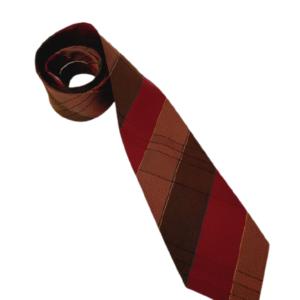 Yves Saint Laurent striped tie