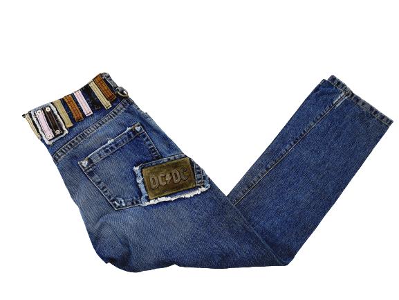 Dsquared2 Belt Loops Jeans