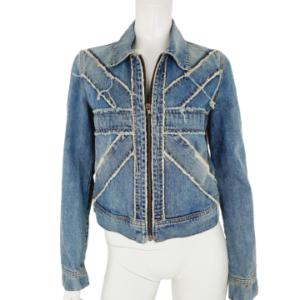 Richmond stonewashed jacket