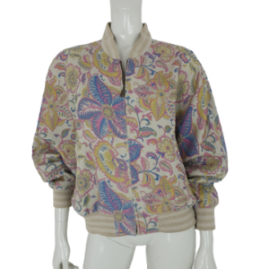 Bogner silk bomber jacket