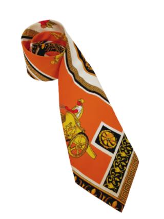 Gianni Versace silk tie