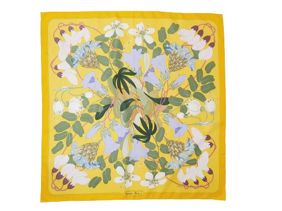 Hermes silk scarf Flora Graeca