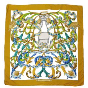 Hermes scarf Le Mors A La Conétable