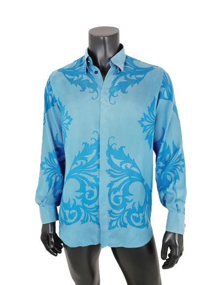 Versace silk baroque shirt