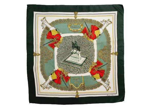 Hermes scarf Versailles le Pave du Roy