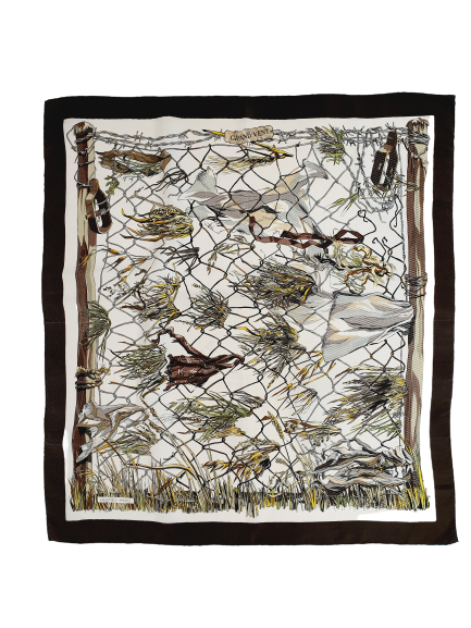 Hermès scarf Grand Vent