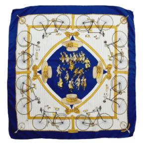 Hermes Les Bécanes scarf