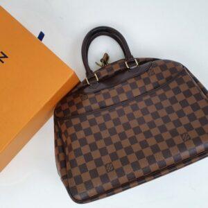 Louis Vuitton Deauville Damier Ebene Bag
